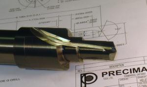 Solid Carbide Multi Step G-Drill